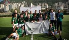 اللقب لسابيس في بطولة الاستقلال لمدارس كسروان وجبيل في كرة القدم