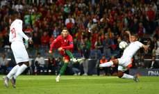 احصاءات من مباراة البرتغال و سويسرا