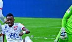 الدوري الفرنسي: ليون يفشل بالإقتراب من المناطق الأوروبية