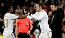 لاعبو ريال مدريد يصرون على أنهم سعداء بعودة بايل
