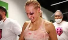 الملاكمة بريدغيس تفصح عن اصابتها المروعة