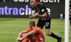 تصفيات الدوري الأوروبي: وولفرهامبتون وفرانكفورت الى دوري المجموعات