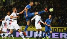 مباريات ودّية: فوزان لفرنسا وايطاليا