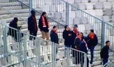 توقف لقاء نيم امام بوردو بسبب الجماهير