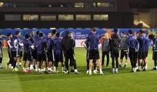 منتخب الامارات يخوض المران الأخير استعدادا لافتتاحية كأس آسيا