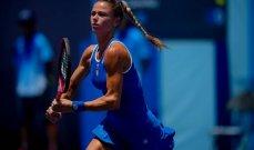 طوكيو 2020: خروج بليسكوفا وتقدم سفيتولينا في منافسات كرة المضرب