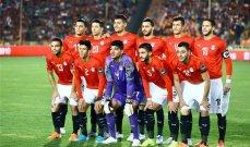 المنتخب المصري بزيه التقليدي أمام إسبانيا في افتتاح اولمبياد طوكيو