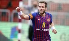 برشلونة يتخطى مونبيلييه ويحجز مكانا في النهائي