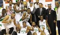 السعودية تحرز لقب البطولة العربية لكرة السلة