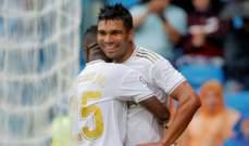 إتفاق بين ريال مدريد وكاسيميرو لتمديد العقد