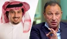 آل الشيخ يفتح النارعلى ادارة الأهلي المصري بسبب شكوى السعيد للفيفا