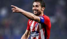 اتلتيكو مدريد يودع قائده الشهر المقبل