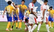 كأس نجوم قطر: تعادل ايجابي بين الغرافة والعربي