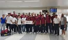 سلة : وصول منتخب قطر استعدادا للمشاركة بالبطولة الودية