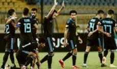 الدوري المصري: بيراميدز يتخطى الاسماعيلي بثلاثية