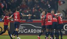 ارقام واحصاءات من مباراة باريس سان جيرمان وليل