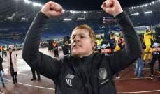 مدرب سلتيك: الفوز على لاتسيو مثل الفوز على برشلونة