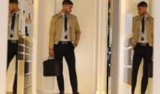 سرجيو راموس يستمر بعرض الأزياء