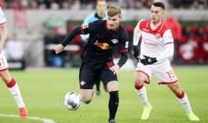 الدوري الألماني: لايبزيغ الى الصدارة مؤقتا بالفوز على فورتونا دوسلدورف