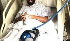 مهدي فحص يغادر المستشفى وغيابه مستمر لستة أشهر!