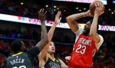 NBA PLAYOFFS : البيليكانز يقلص الفارق مع الواريرز والروكتس يتقدم على الجاز