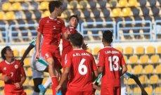 كأس العرب للشباب .. لبنان يواجه العراق والسعودية امام اليمن