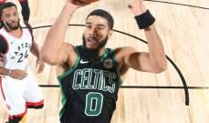 NBA: بوسطن يفوز على تورنتو ويتقدم في النصف نهائي