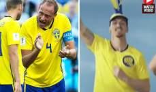 ابرا يواصل سخريته رغم فوز السويد