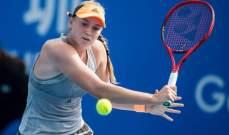 إلينا ريباكينا تطيح تشينغ ضمن بطولة سوق دبي الحرة لتنس السيدات