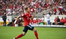 غوريتسكا يقص شريط اهدافه مع الفريق البافاري
