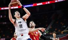 كاس العالم في كرة السلة: مونتينيغرو تهزم اليابان