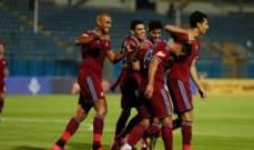 الدوري المصري: بيراميدز يفلت من الهزيمة ويتعادل امام طلائع الجيش