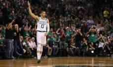 NBA PLAYOFFS: بوسطن يستعيد تقدمه في سلسلة النهائي الشرقي