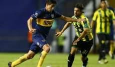 الدوري الارجنتيني: بوكا جونيورز يتعادل مع الدوسيفي