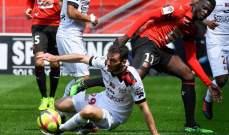 الدوري الفرنسي: تعادل ايجابي بين رين وغانغان