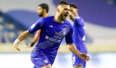 النصر الاماراتي يحتفظ برباعي الموسم الماضي الاجنبي