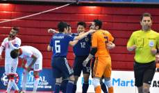 اليابان الى نهائي كاس اسيا لكرة الصالات