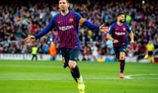 ميسي يحسم الديربي لصالح برشلونة امام اسبانيول ويقرّبهم من حسم الليغا مبكراً