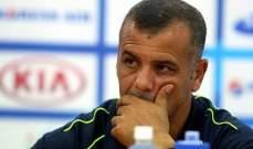 ابو عابد : أثق في قدرة منتخب الاردن على التحسن