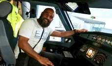 ملاكم يمنع اختطاف طائرة ركاب!