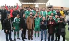 الانصار يحرز لقب كأس حارة حريك بفوزه على شباب الساحل