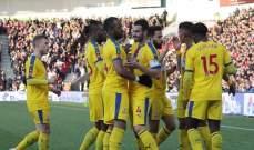 كأس الاتحاد الانكليزي : كريستال بالاس وسوانسي الى ربع النهائي
