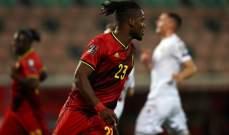 تألق مستمر لباتشواي مع منتخب بلجيكا