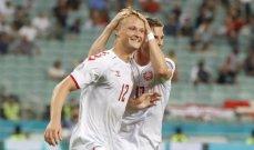 يورو 2020: الدنمارك إلى نصف النهائي بعد إقصاء جمهورية التشيك