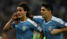 ماذا قال كافاني بعد الفوز على تشيلي؟