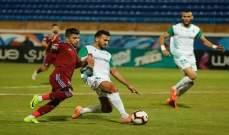 الدوري المصري: الاتحاد السكندري يجبر بيراميدز على التعادل