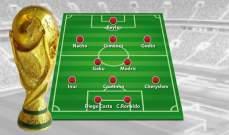الموندو تنشر قائمة افضل 11 لاعب اجنبي في المونديال يلعبون في الليغا