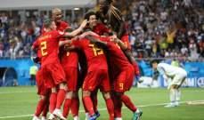 ابرز احصاءات مباراة بلجيكا أمام اليابان