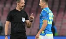 مهاجم نابولي يشيد بأنشيلوتي في الفوز على ليفربول