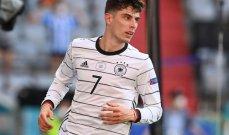هافيرتز يصبح أصغر هداف لألمانيا في بطولة أوروبا